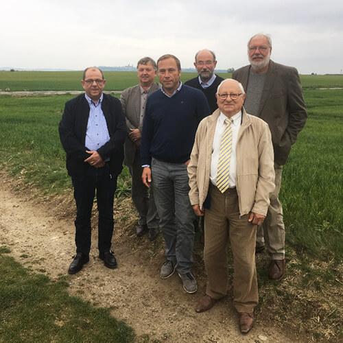Membres du bureau de la FDC de l'Aisne