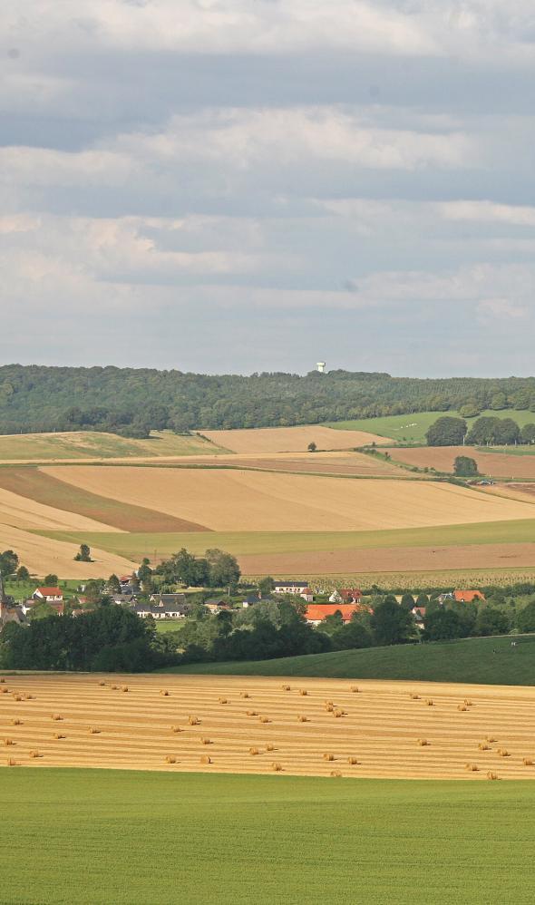 Les paysages de la region Hauts-de-France